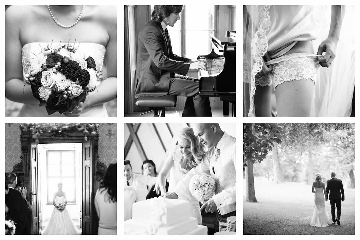 Checkliste für Hochzeitsfotos