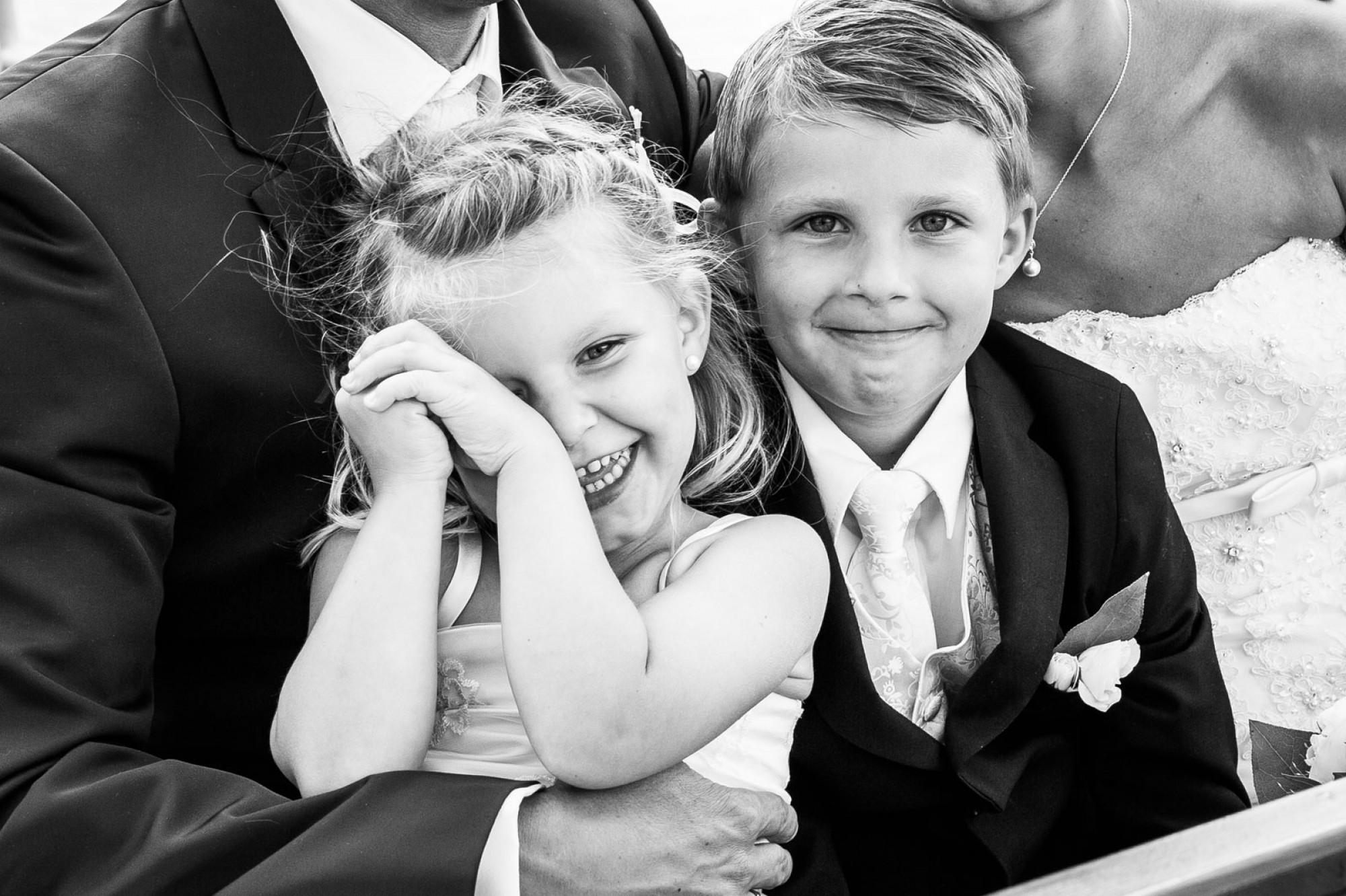 Hochzeit Kinderfotos